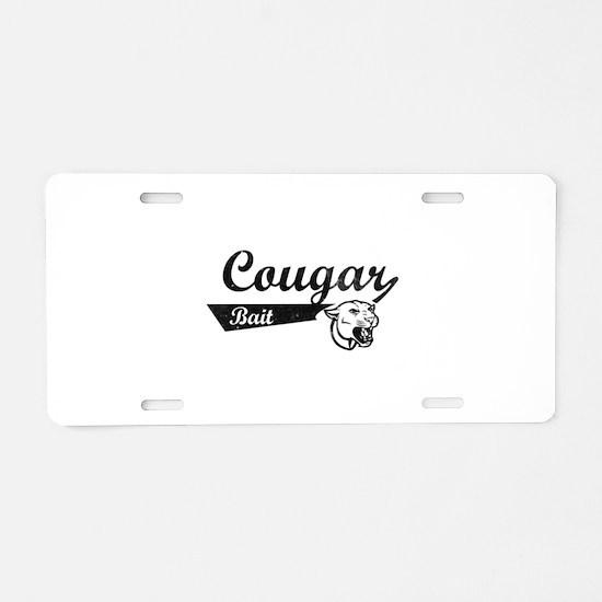 Cougar Bait Aluminum License Plate