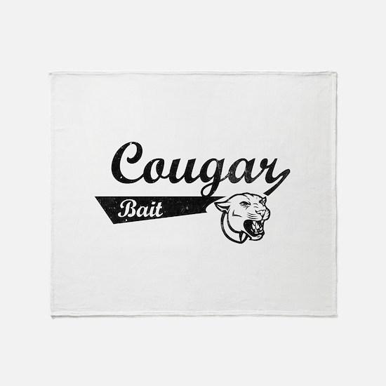 Cougar Bait Throw Blanket
