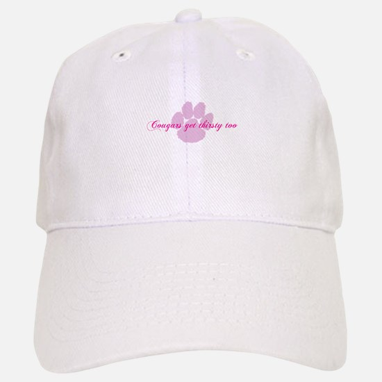 Cougars get thirsty too Baseball Baseball Cap