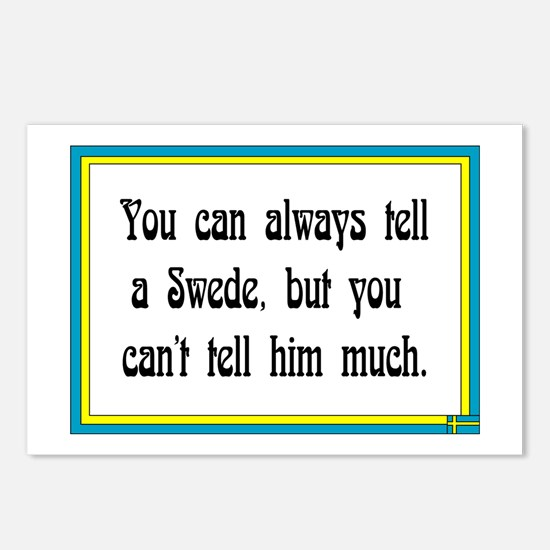 You Call Always Tell Postcards (Package of 8)