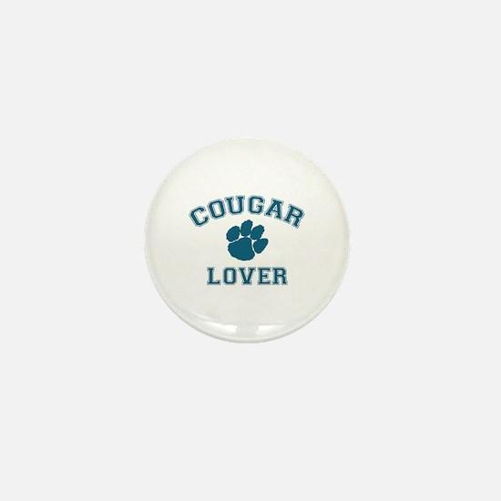 Cougar lover Mini Button