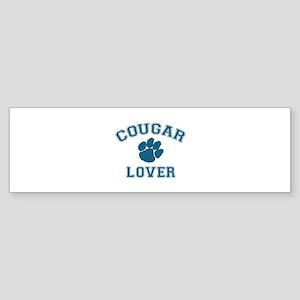 Cougar lover Sticker (Bumper)