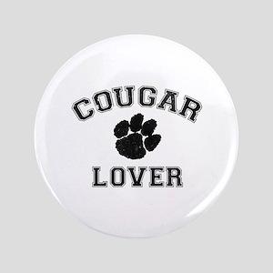 """Cougar lover 3.5"""" Button"""