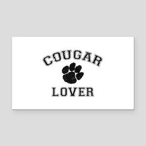Cougar lover Rectangle Car Magnet