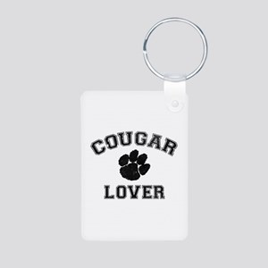Cougar lover Aluminum Photo Keychain