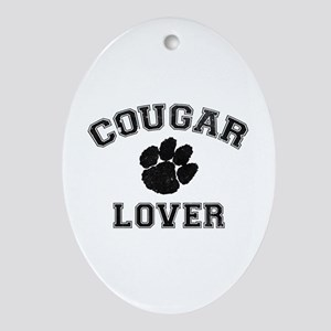 Cougar lover Ornament (Oval)