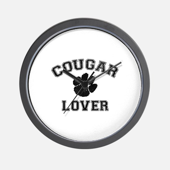 Cougar lover Wall Clock