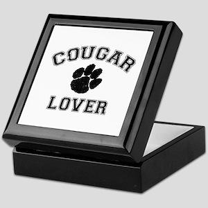 Cougar lover Keepsake Box