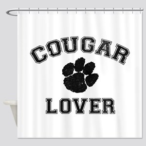 Cougar lover Shower Curtain