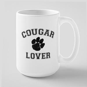 Cougar lover Large Mug