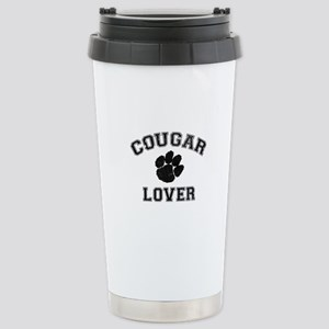Cougar lover Stainless Steel Travel Mug