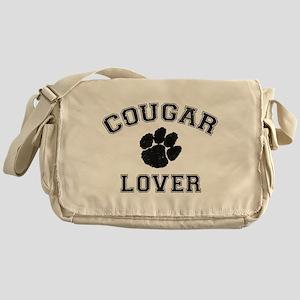 Cougar lover Messenger Bag