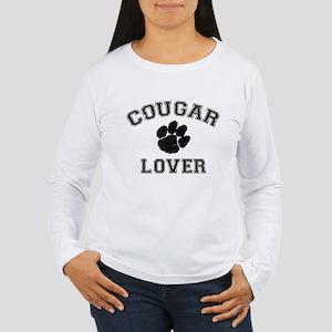 Cougar lover Women's Long Sleeve T-Shirt