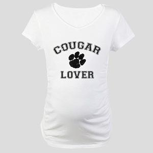 Cougar lover Maternity T-Shirt