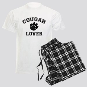 Cougar lover Men's Light Pajamas