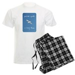 perfect speed is being there - handwritten Men's L