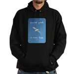 perfect speed is being there - handwritten Hoodie