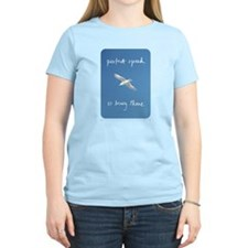 perfect speed is being there - handwritten Women's