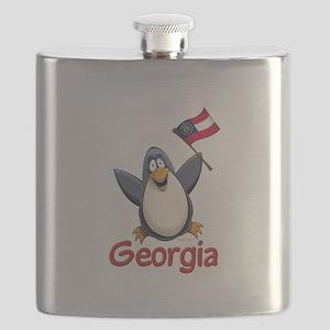 Georgia Penguin Flask