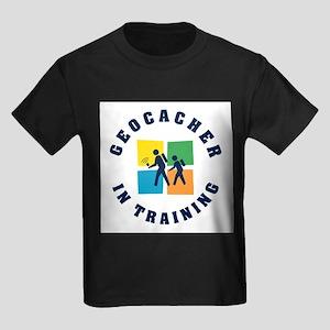 Geocacher in Training Kids T-Shirt T-Shirt