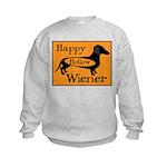 Happy Hollow Wiener Kids Sweatshirt