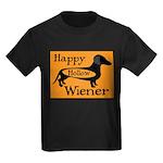 Happy Hollow Wiener Kids Dark T-Shirt
