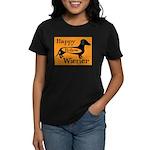 Happy Hollow Wiener Women's Dark T-Shirt