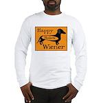 Happy Hollow Wiener Long Sleeve T-Shirt