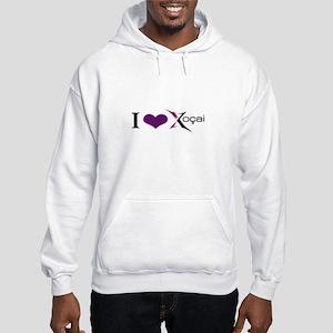 """""""I Love Xocai"""" Hooded Sweatshirt"""