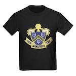 USS MANSFIELD Kids Dark T-Shirt