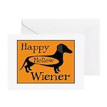 Happy Hollow Wiener Greeting Cards (Pk of 20)