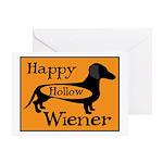Happy Hollow Wiener Greeting Card