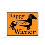 Happy Hollow Wiener Postcards (Package of 8)
