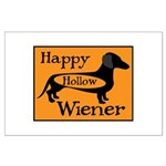 Happy Hollow Wiener Large Poster