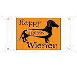 Happy Hollow Wiener Banner