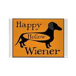 Happy Hollow Wiener Rectangle Magnet