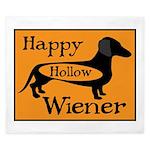 Happy Hollow Wiener King Duvet