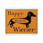 Happy Hollow Wiener Throw Blanket