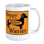 Happy Hollow Wiener Large Mug