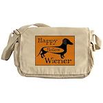Happy Hollow Wiener Messenger Bag
