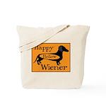 Happy Hollow Wiener Tote Bag