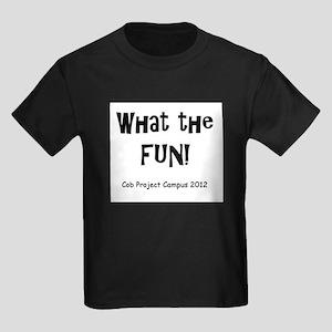What Fun Kids Dark T-Shirt