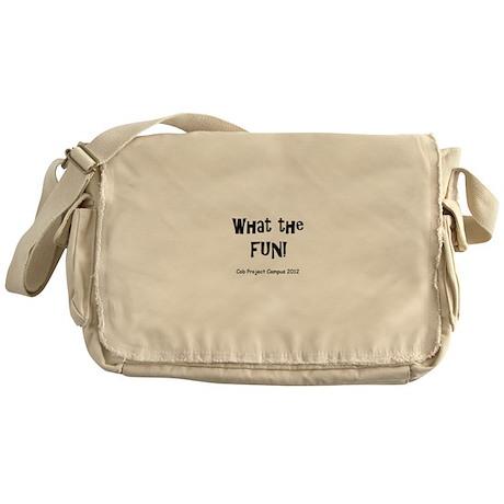 What Fun Messenger Bag