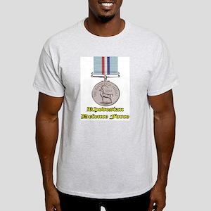 Rhodesian Defence Medal Light T-Shirt
