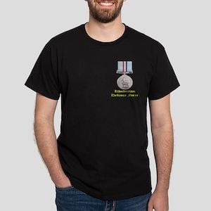 Rhodesian Defence Medal Dark T-Shirt