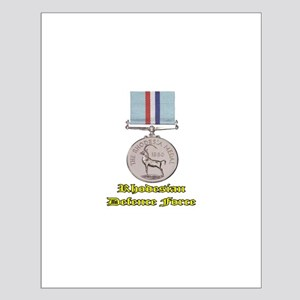 Rhodesian Defence Medal Small Poster
