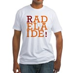 RAdelaide - Adelaide teeshirts Fitted T-Shirt