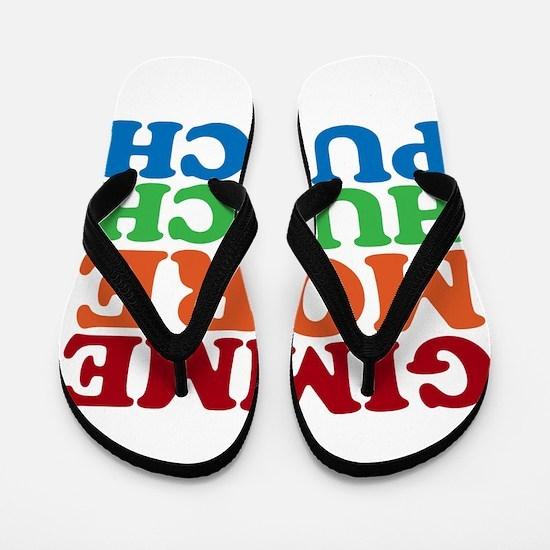 More Hunch Punch Flip Flops