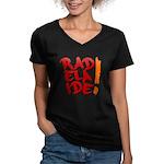 rAdelaide tee shirts Women's V-Neck Dark T-Shirt