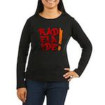 rAdelaide tee shirts Women's Long Sleeve Dark T-Sh